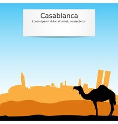 Casablanca vector