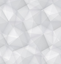 Gray Polygonal Background vector image