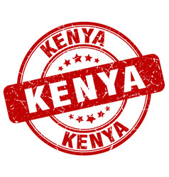 Kenya stamp vector