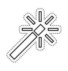 Magic wand edit photo vector