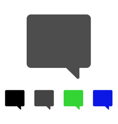 Message flat icon vector