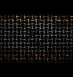 Pattern of metal rusty grid urban grunge vector