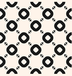 Seamless pattern with simple geometric shapes vector