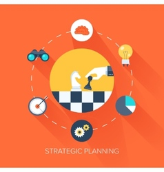 Strategic Planning vector image