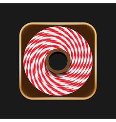 Twine roll icon vector