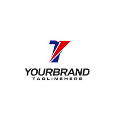 Unique logo that forms letter t matches your vector