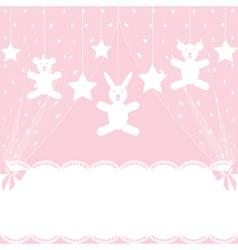 crib vector image