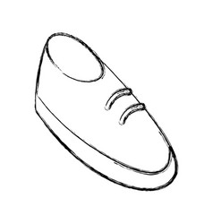 shoe cartoon isolated vector image