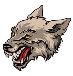 werewolf color vector image vector image