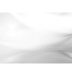 Abstract grey pearl smooth waves vector image