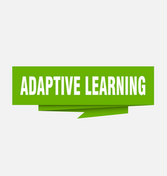Adaptive learning vector