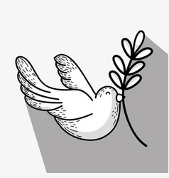 National peace and love day to global harmony vector