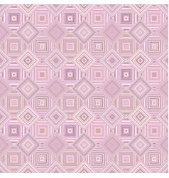 pink geometrical diagonal square mosaic tile vector image