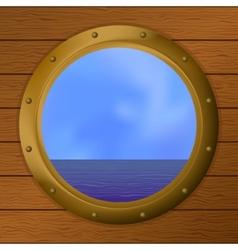 Sea ship vector