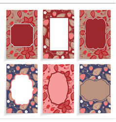 Templates cards vector