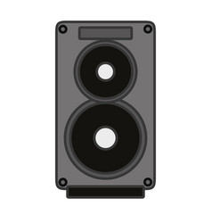 speaker music instrument vector image