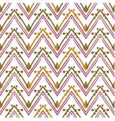 abstract zigzag pattern for cover design vector image