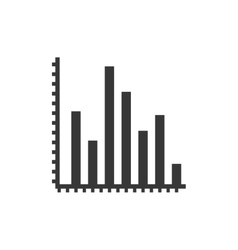 Bars data infographic icon graphic vector