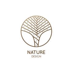 blossom succulent logo template vector image