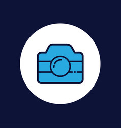 camera icon sign symbol vector image