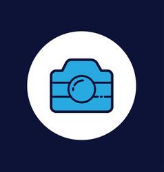 camera icon sign symbol vector image