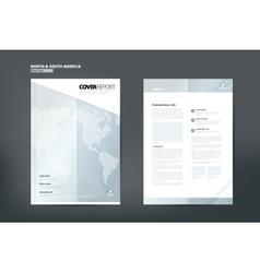 Catalog for America Catalog Design Cover Catalog vector image