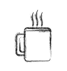 Coffee cup drink hot sketch vector