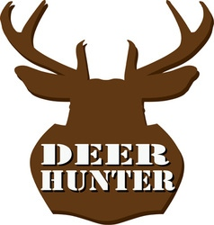 Deer Hunter vector image