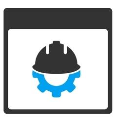 Development Calendar Page Toolbar Icon vector