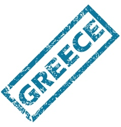 Greece rubber stamp vector