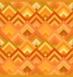 orange abstract repeating diagonal shape mosaic vector image