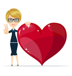 saint valentines day vector image