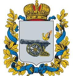 Smolensk Gubernia vector image