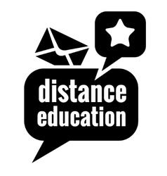 black education icon vector image vector image
