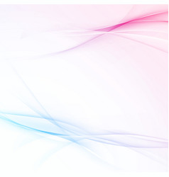 modern transparent swoosh wave abstract vector image vector image