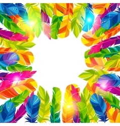 Colorful background with bright abstract vector image