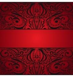 Elegant vintage background vector image vector image