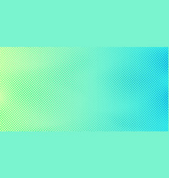 Abstract bright green and blue gradient color vector