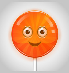 Candy face vector