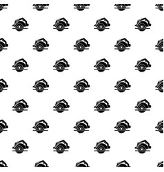 Circular saw pattern seamless vector