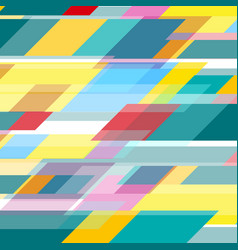 colorful geometric minimal tech abstract vector image