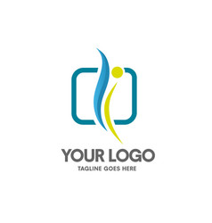 Health coaching logo vector