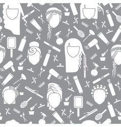 Seamless pattern barbershop vector