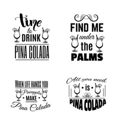set quote typographical background of vector image