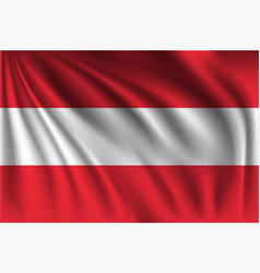 Waving austria vector