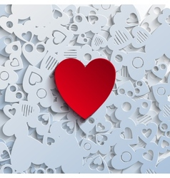 Heartshape Background vector image