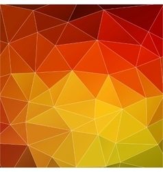 abstract orange background vector image