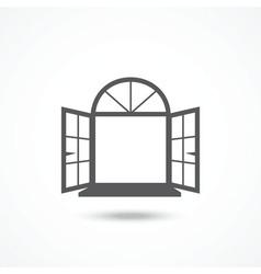 Window icon vector image vector image
