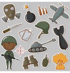 African-American soldier vector image
