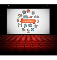 Cinema Concept vector image
